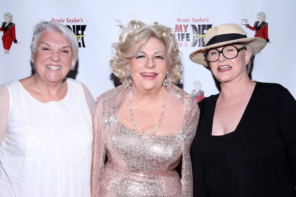 Tyne Daly, Renée Taylor, Sharon Gless