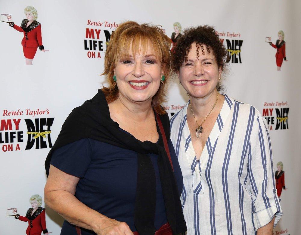 Joy Behar and Susie Essman