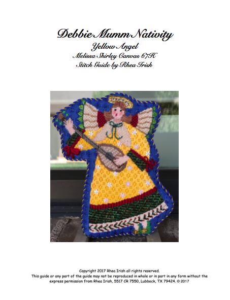 Debbie Mumm Nativity-Yellow Angel.png