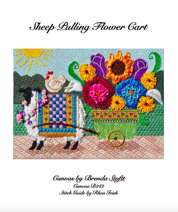 Sheep Pulling Flower Cart.png