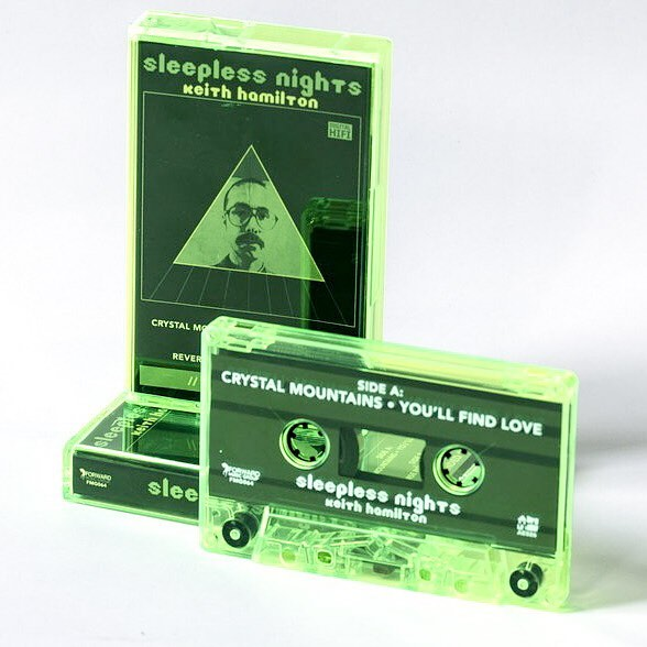 Keith Hamilton by Sleepless Nights is now available on cassette from our Bandcamp page! Slimmer green tape in a slimmer green case! @forwardhorse @acadianembassy #cassette #tape I'll post the link in the comments.