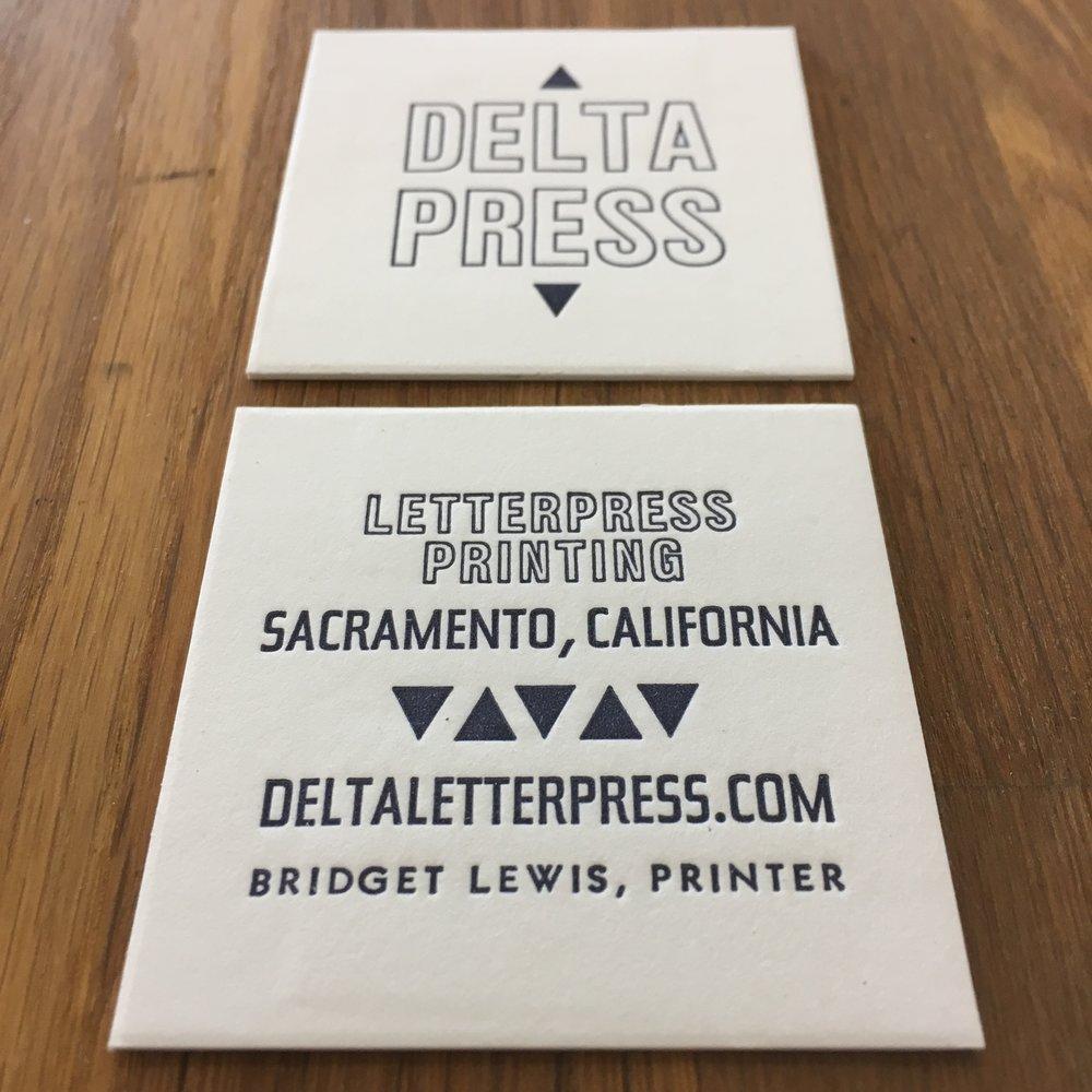Portfolio Delta Letterpress