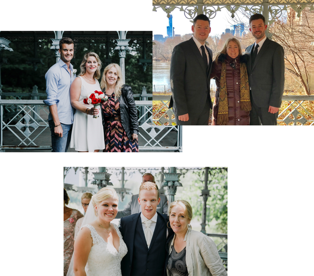 """""""Sharon was our admired wedding officiant and she's really amazing: funny, deep, personal, grounding, super intelligent, spiritual. I highly recommend her for any life ritual"""" - / Naomi /"""