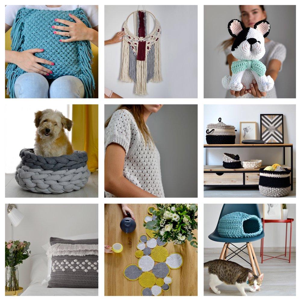 El mayor recopilatorio de patrones handmade para el hogar -
