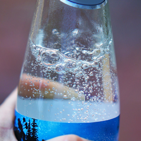Carbonated water -