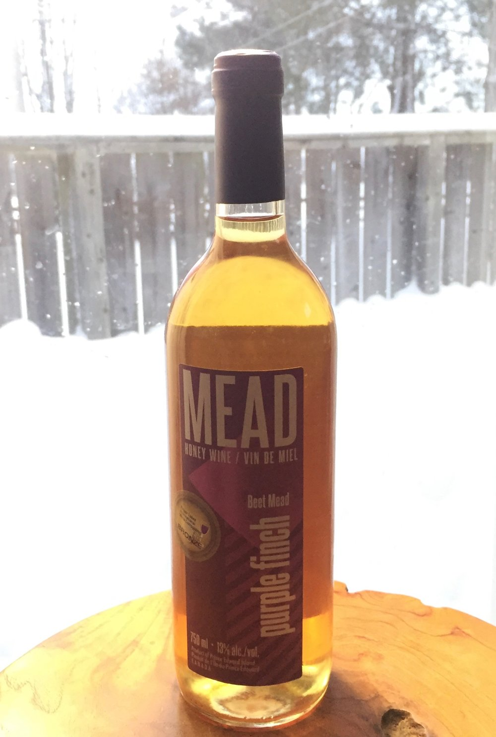 Delicious Award Winning Mead by the gifted Daniel and Beatrice of Canoe Cove Meadery!