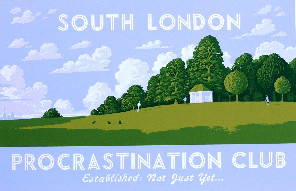South London Procrastination Club (blue)