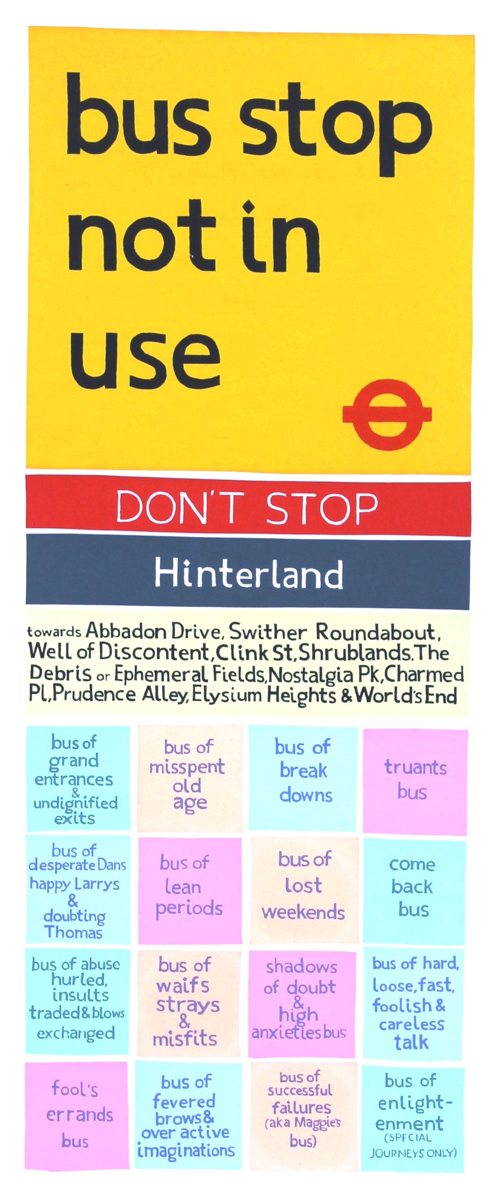 'Hinterland' Screenprint