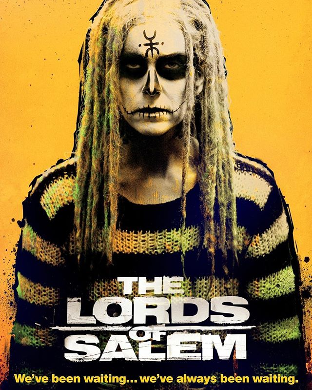 Day 16: THE LORDS OF SALEM (2013; Dir. Rob Zombie) — Without a doubt, this is Rob Zombie's most divisive film; you either love it or aggressively hate it. I, for one, love the risks he took in scaling back his typical aesthetic and choosing, instead, a carefully structured, tightly crafted slow burn horror that emulates the best of both Kubrick and Polanski. More style than substance, this movie is breathtaking to watch, but it's incredibly bleak, uncomfortable, and unnerving. The plot is essentially Rob Zombie's remake of HOCUS POCUS, with 100% more nudity, heroin, and satanism. — — #halloween #31daysofhalloween #31 #october #horror #horrormovies #horrorfans #halloweencountdown #horrorwriter #horrorlover #robzombie #sherimoonzombie #thelordsofsalem #lordsofsalem #witches #witch #witchcraft