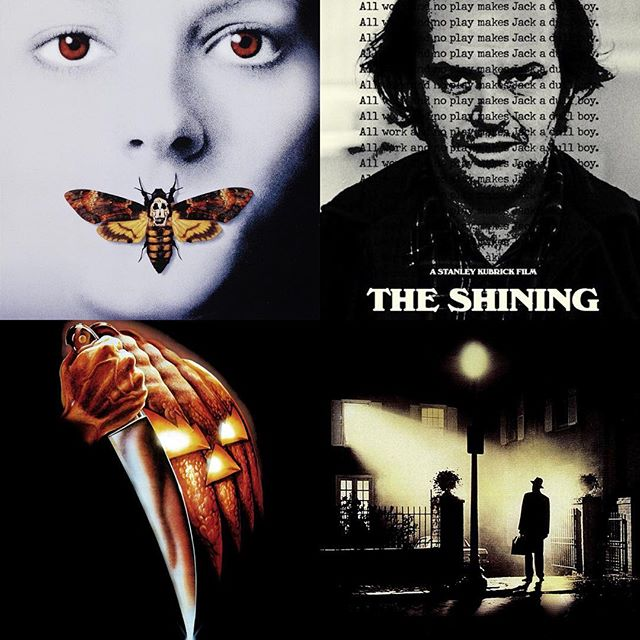 """DAY 27: THE SILENCE OF THE LAMBS (this is a literally perfect movie; I challenge anyone to tell me otherwise, and then I call them a liar) — DAY 28: THE SHINING (I was too young to appreciate this movie when I first saw it, but a few years ago, I rewatched it for the first time since I was 11, and it chilled me to the bone. I could write essays about everything this movie does right) — DAY 29: HALLOWEEN (I saw this around the same time I saw Psycho, making Halloween one of my first slasher movies, and another near-perfectly crafted film that endures as my favorite slasher series. I was underwhelmed by the new Halloween, but I respect what it did for the series) — DAY 30: THE EXORCIST (this movie was the ultimate """"video nasty"""" for me as a child. I feared it for years before I ever even saw it, and when I finally did, it left me with an indelible love of all things in the possession/religious horror genre) — — — — #halloween #31daysofhalloween #31 #october #horror #horrormovies #horrorfans #halloweencountdown #horrorwriter #horrorlover #theexorcist #exorcist #silenceofthelambs #hannibal #hanniballecter #theshining #stephenking #kubrick #stanleykubrick #michaelmyers #johncarpenter"""