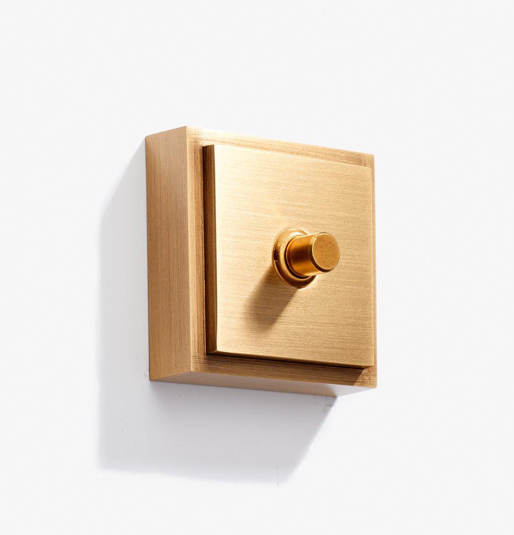 Doorbell - Carré - 1 BP 12 V - Bronze Medaille Clair 2.jpg