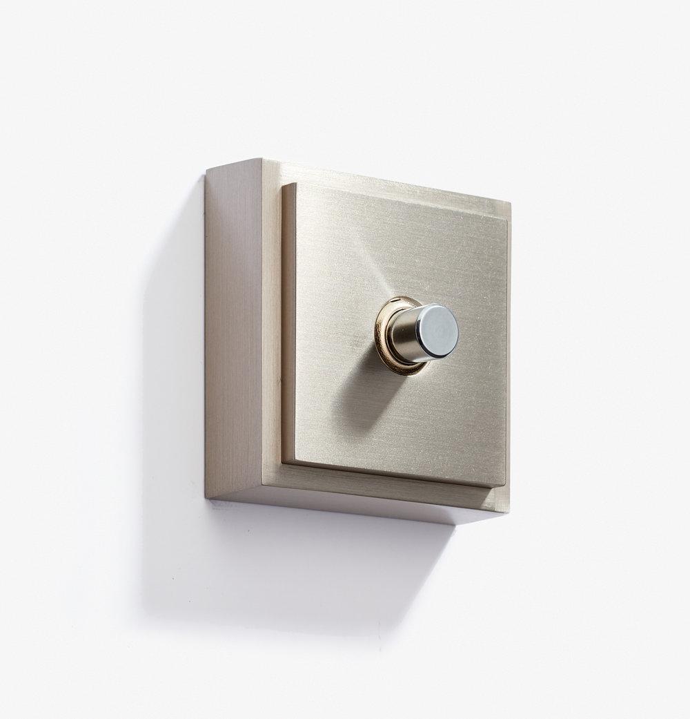 Doorbell - Carré - 1 BP 12V - Nickel Brossé 2.jpg