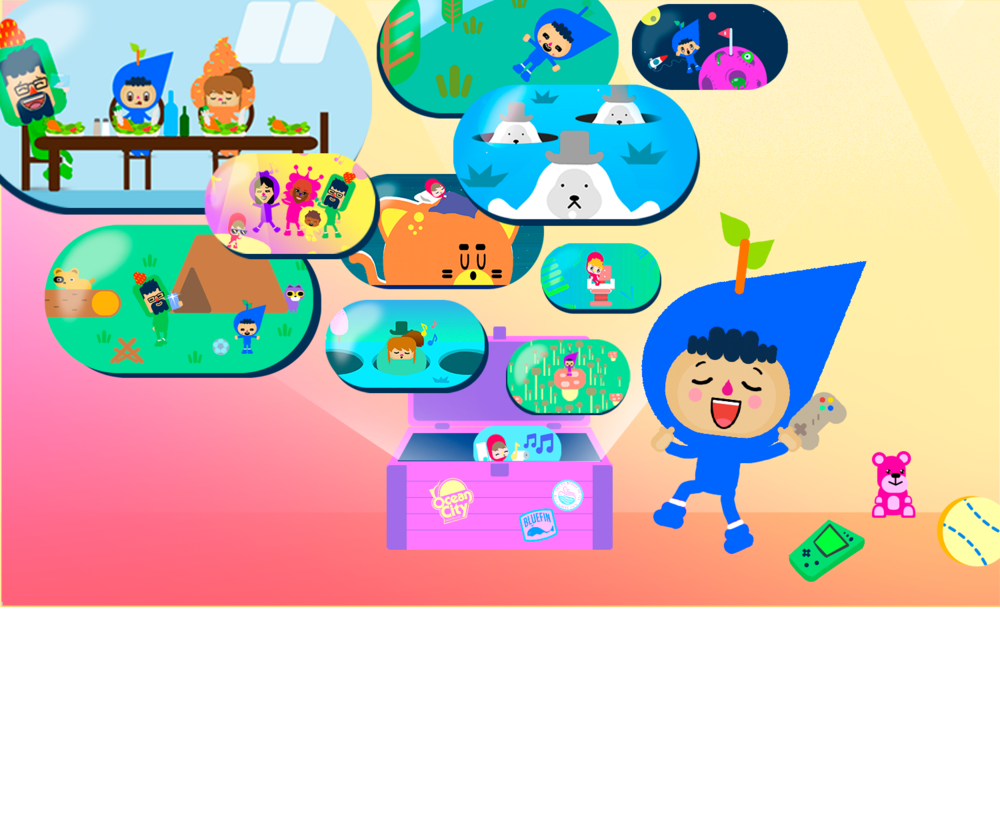 Lots of original and educational games for your kids! - Sing, share and laugh with a variety of videos, minigames and educational games for preschoolers and babies! Everything for the up-and-coming toddler!