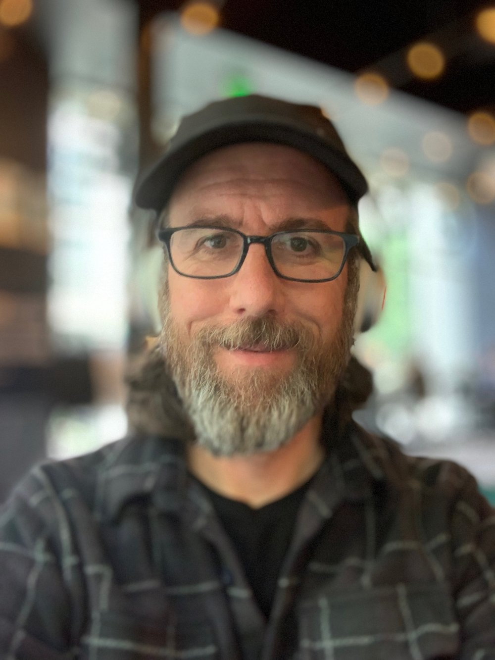 Portrait mode on the iPhone XS at f/1.4. Like a bad hallucination.