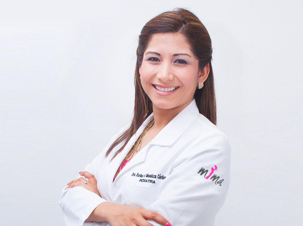 Dra. Karina Mendoza   Pediatra Humanista Centro Mima