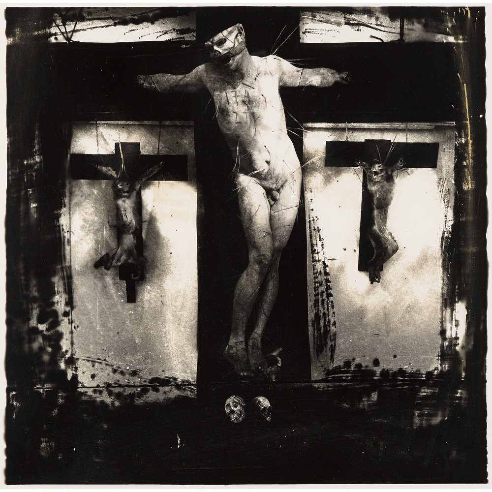 Joel-Peter Witkin  // Penitente, New Mexico // 1982 // gelatin silver print