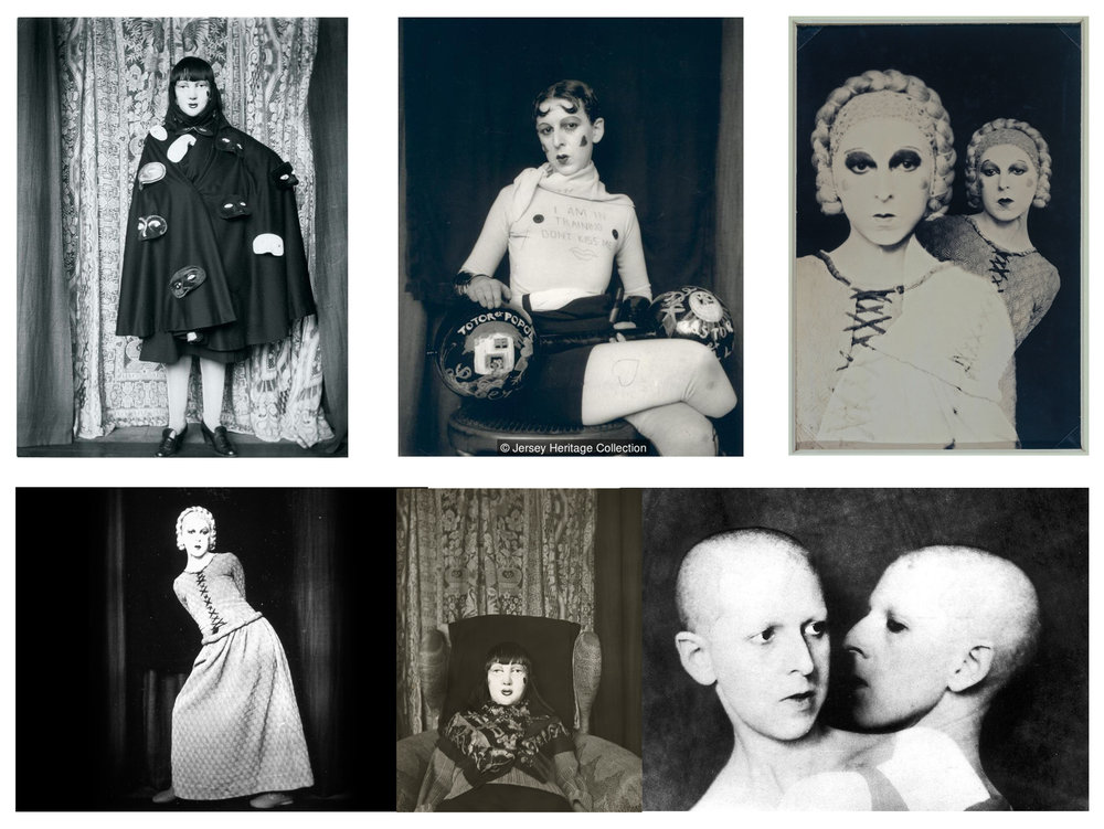 Claude Cahun // Collection // Paris // 1920's and 30's // Silver Gelatin Print