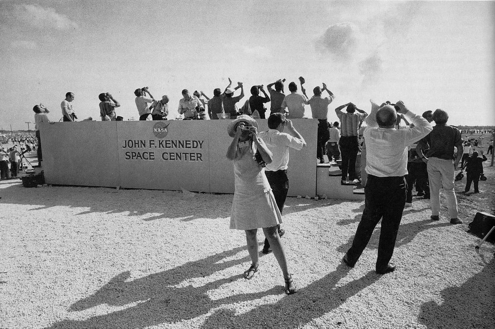 Garry Winogrand // Kennedy Space Center, Florida, 1969