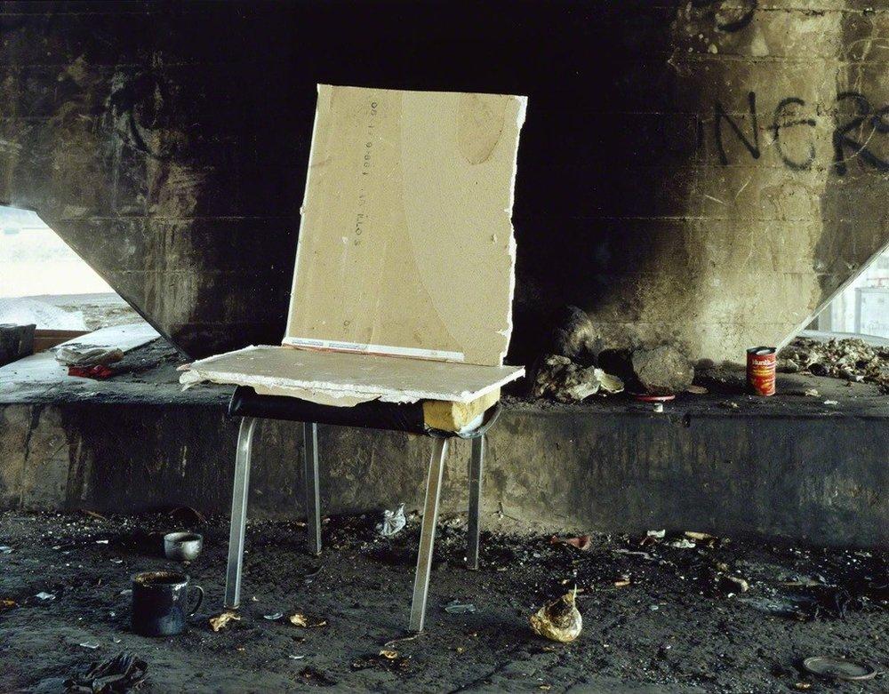 Anthony Hernandez // Landscapes for the Homeless #18 // 1989