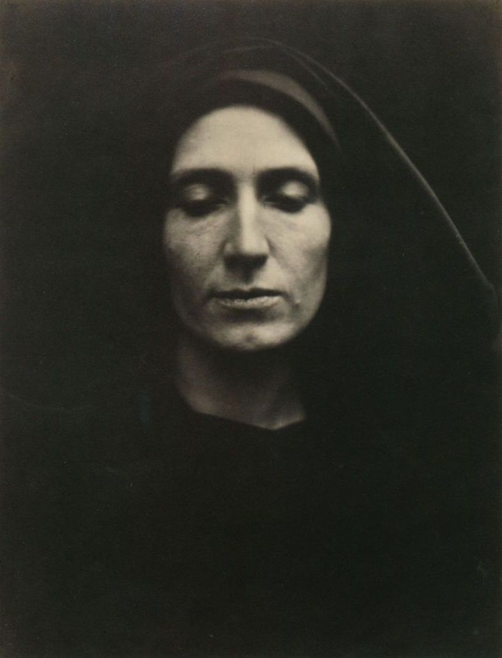 Julia Margaret Cameron //  Unknown Woman or Madonna  // England // March 1868 // Albumen Print