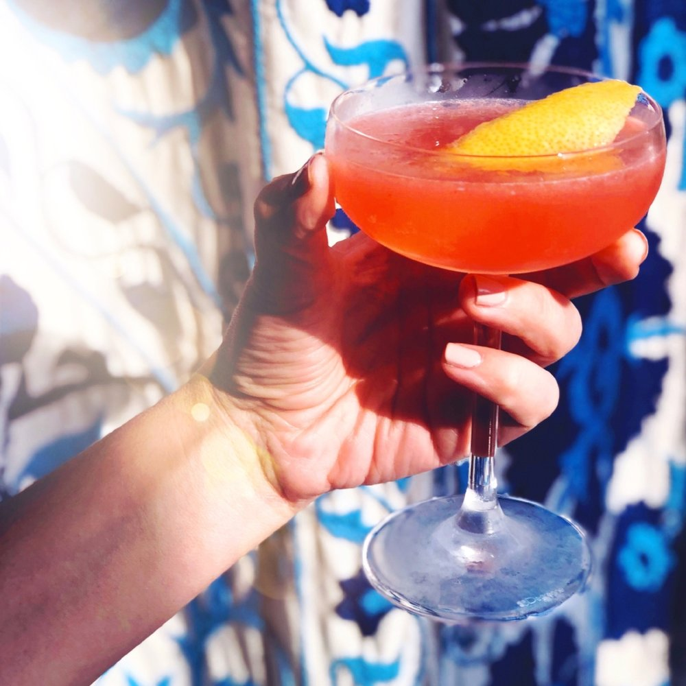 Stacie's favorite summer cocktail at Sarma restaurant in Boston | Didn't I Just Feed You podcast