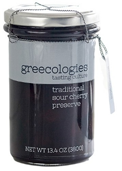 Greecologies Sour Cherry Preserves | Didn't I Just Feed You podcast