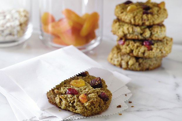 Breakfast Cookies recipe from Real Sweet cookbook by Shauna Sever © 2015 by Shauna Sever. Reprinted with permission by WilliamMorrow Cookbooks, an imprint of HarperCollins Publishers | Didn't I Just Feed You podcast
