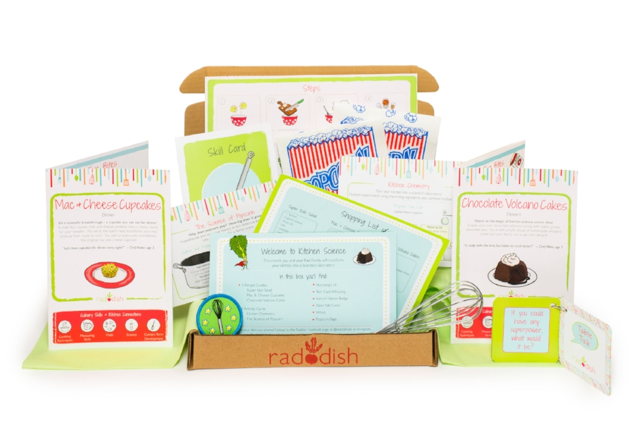 Raddish Kids: A cooking subscription kit for kids that makes a fantastic holiday gift! | Didn't I Just Feed You podcast [sponsor]