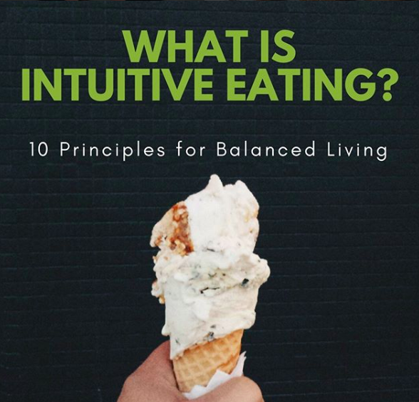 What is intuitive eating? @eathority on Instagram | featured on Didn't I Just Feed You podcast