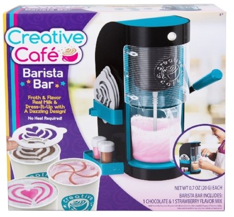Creative Cafe Barista Bar at Target | Didn't I Just Feed You 2018 Holiday Gift Guide with Parents Magazine - Fun food gifts for kids