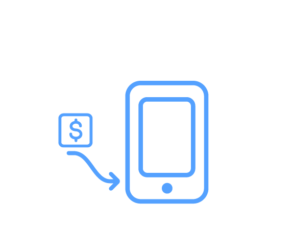 """E-Pay-Cash is officially a thingof the past - All payments are processed safely and effectively through the app so you don't need to plan ahead or do the """"credit card dance"""""""