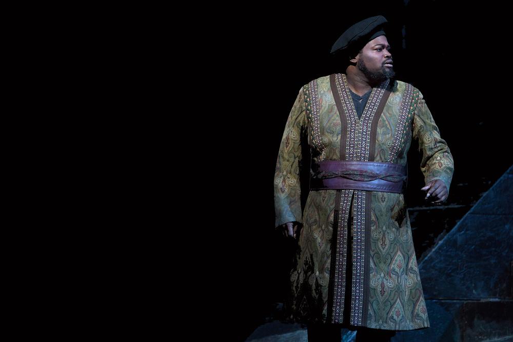 Photo of Metropolitan Opera's  Nabucco  by Marty Sohl