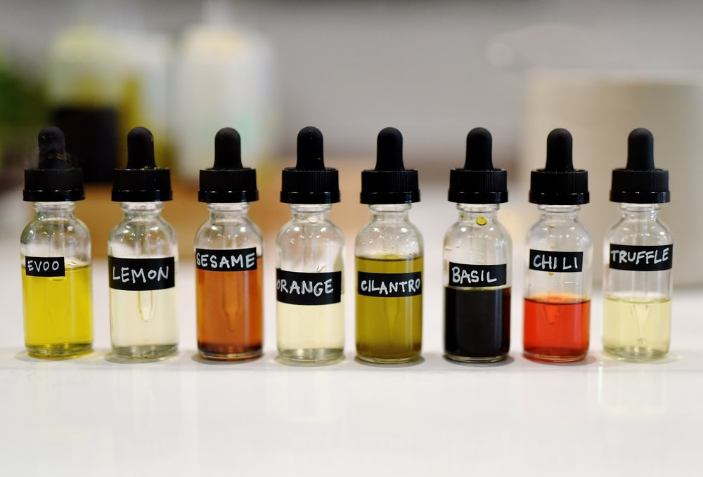 Flavored Oils by Kimberly Park.JPG