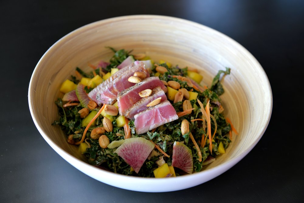 Seared Tuna Salad 03, by Dragana Harris.JPG
