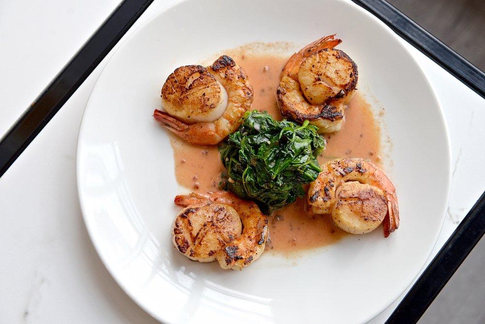 Scallops wrapped in Shrimp 04, Dragana Harris.JPG