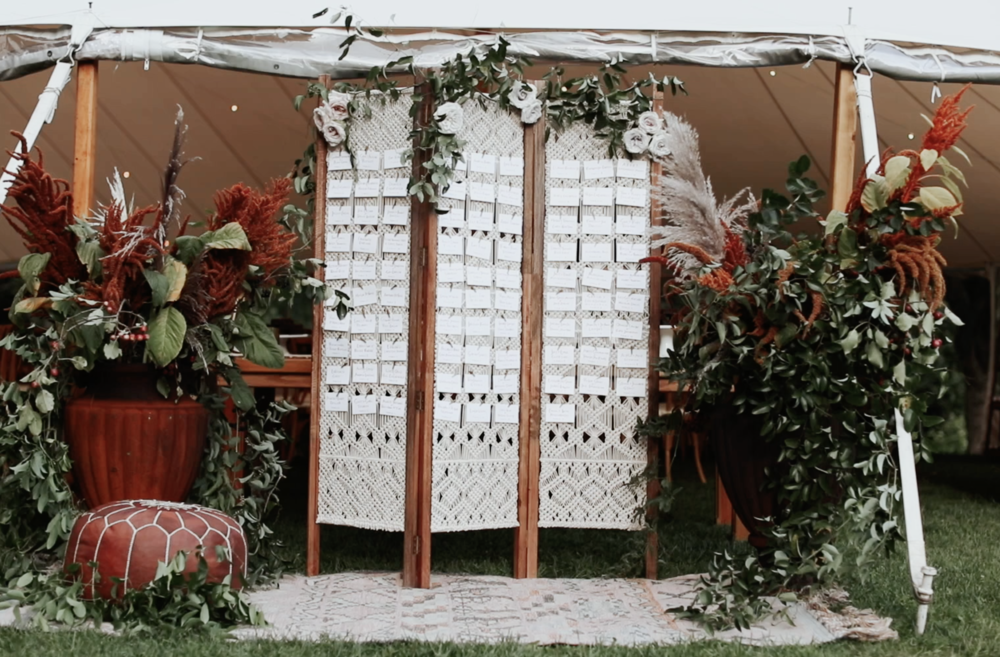 Boho Chic Wedding Details By Always Yours Events