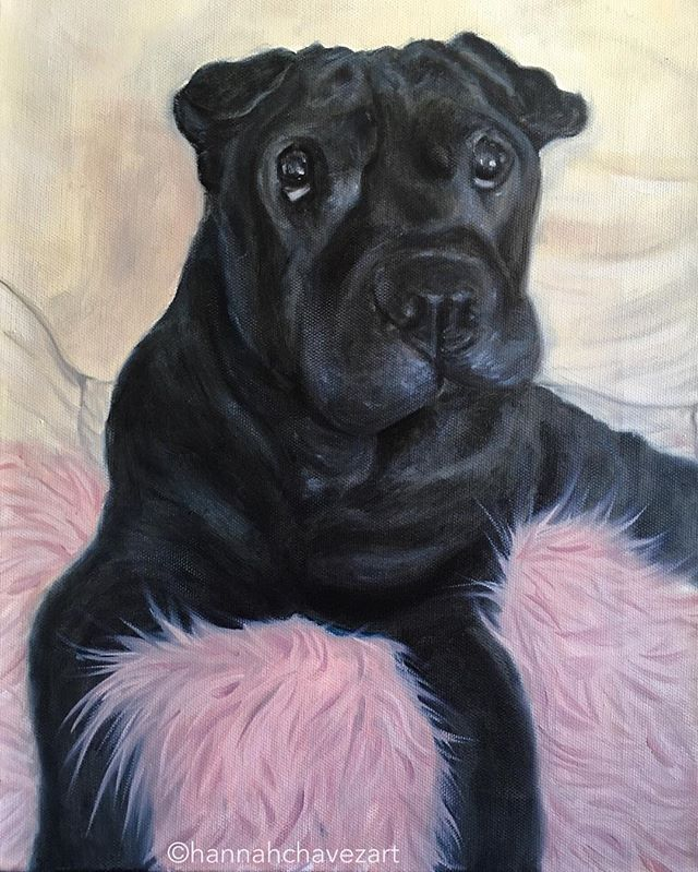 Commission for a friend. Pets are family members x . . #oilpainting #oilportrait #petportrait #portraitart #animalart #animalartist #animalpainting #dog #canine #artist #commission #animallovers #bekindtoeverykind