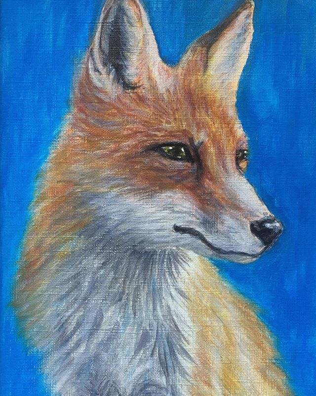I just love these sweet souls. I hope this year brings more compassion and peace to all beings. We are all here to love and help each other, humans and animals alike 🌎 . . . . . #newyear #vegan #furfree #animalsarefriends #fox #foxlove #animallovers #artist #animalartist #painting #acrylic #fineart #realism #savetheanimals #animalrights #compassionforall #artofcompassionproject