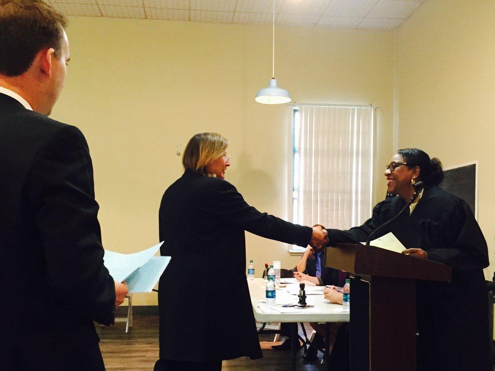 Homeless Court Program in action.