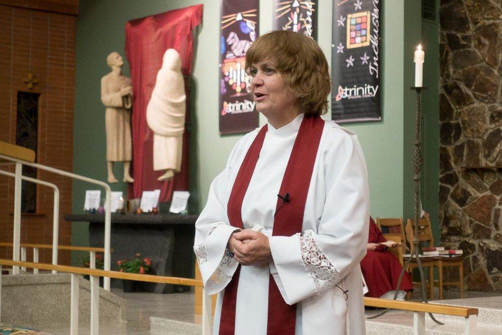 Reverend Meg Decker, Interfaith Board Chair