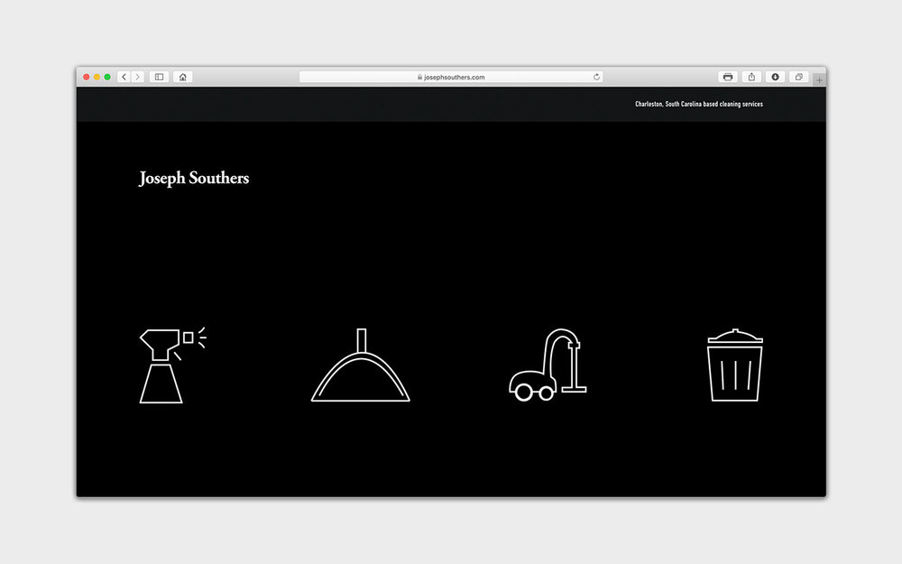 joseph southers cleaning-web design-portfolio