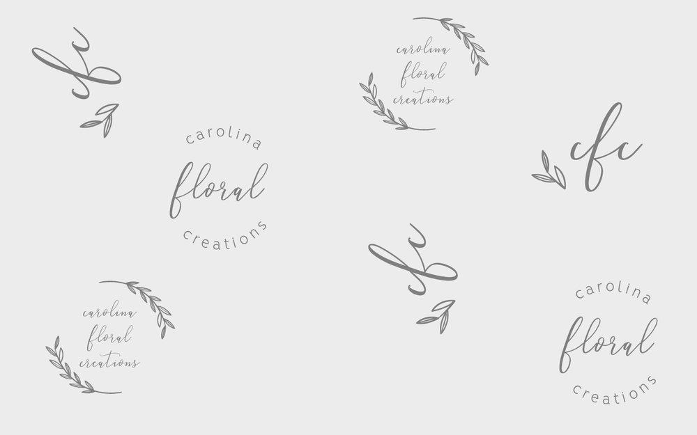 carolina floral creations-logo-portfolio