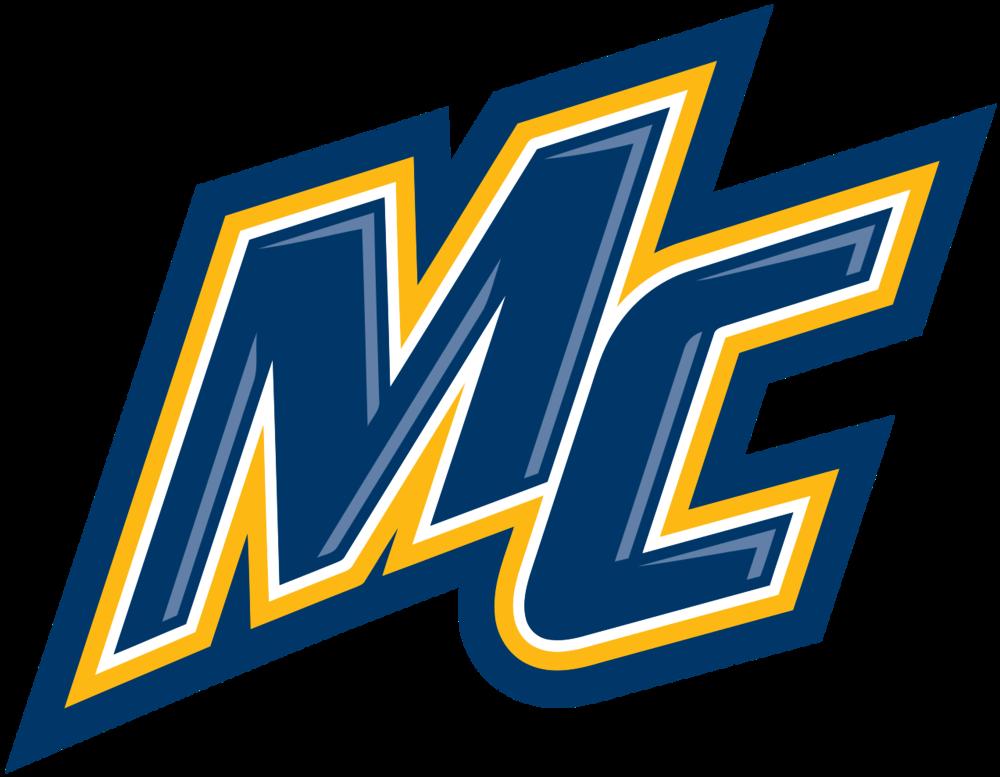 Merrimack Warriors logo provided by Wikipedia.