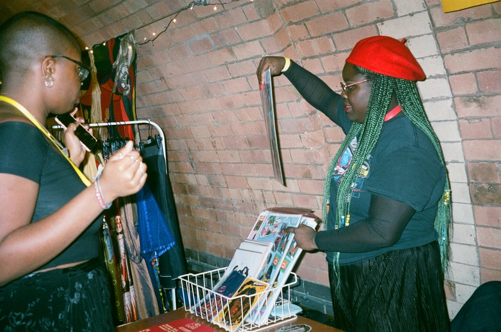Marketplace - A market place was set up for artists, makers and designers to sell their products