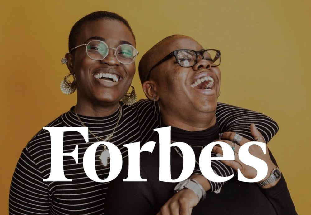 We're in Forbes! - 100 Women Founders To Follow On Twitter & LinkedIn