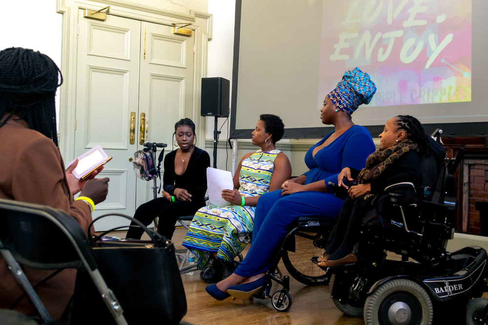 Panel Discussions - Ranged from cultural accessibility, blood donation in the Black community and Black women in the creative industries + more.