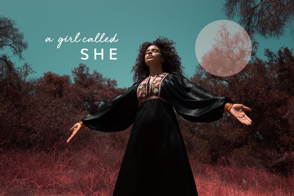 A Girl Called She — A Girl Called She - I AM SHE