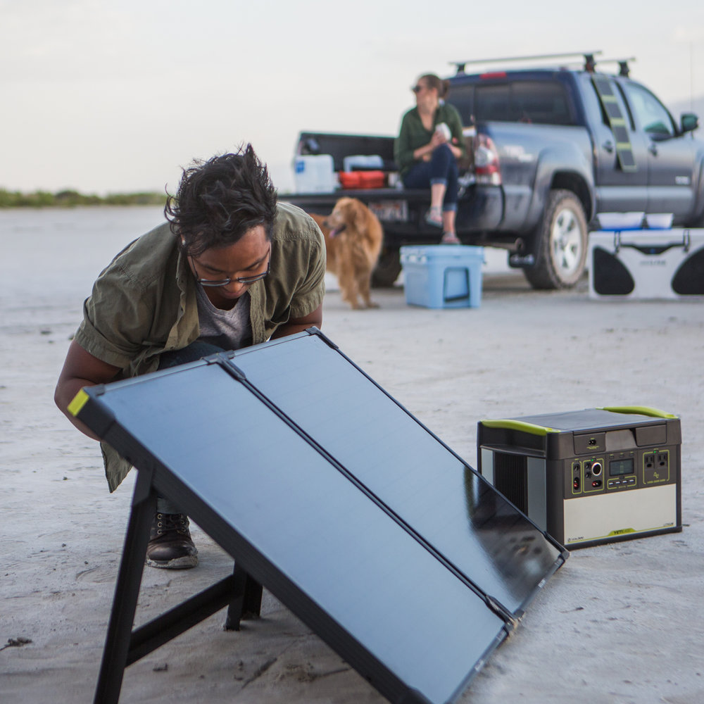 Backup Power Solutions, Solar Powered Goal Zero Generator, Elora, Ontario