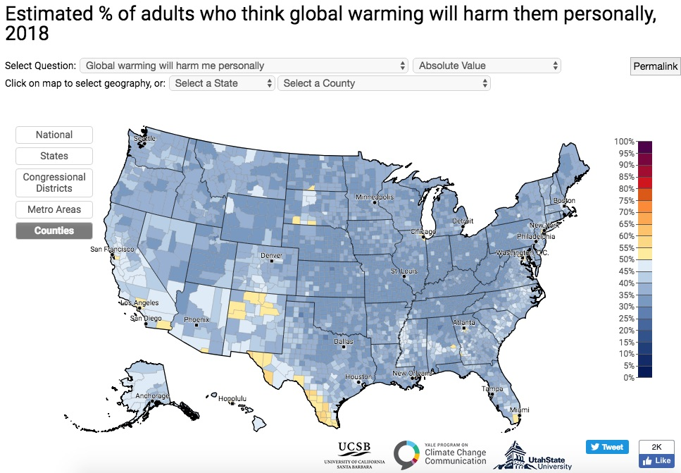 Source:  Yale Program on Climate Change Communication