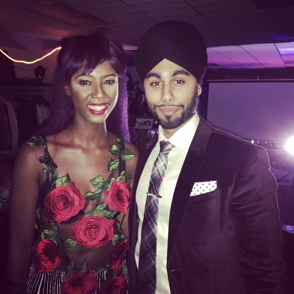 with Domanique Grant - Launch Party - Toronto - 2017 .jpg